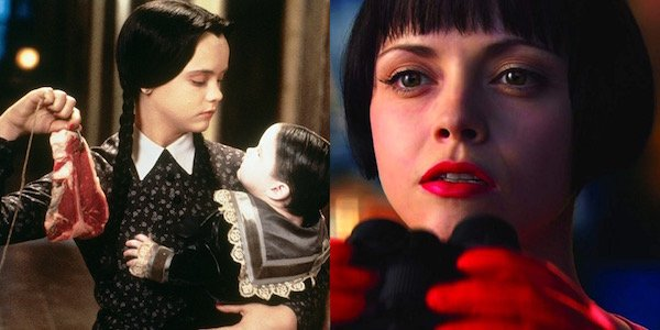 Christina Ricci in Addams Family and Speed Racer
