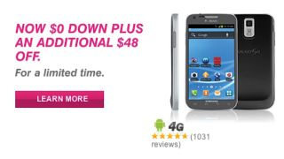 T Mobile no money down