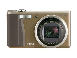 The Ricoh R10 in brown (in case you're colour blind)