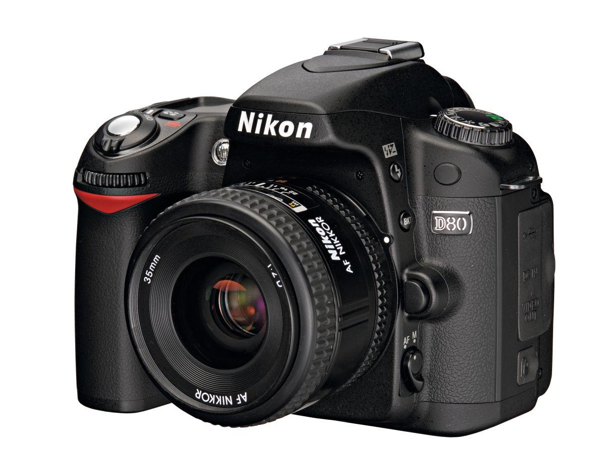 Nikon D80 Techradar
