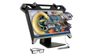HP Zvr Virtual Reality display