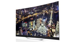 LG launches world's largest curved 4K OLED TV