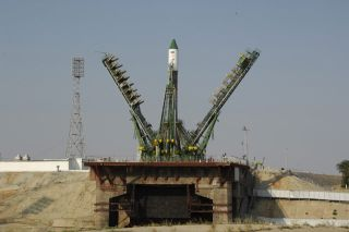 New Russian Cargo Ship Launches Toward Station