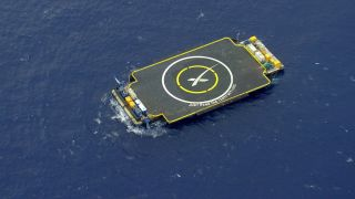 SpaceX's Drone Ship, 'Just Read The Instructions'