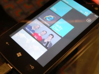 Windows Phone 7 moving back through time...