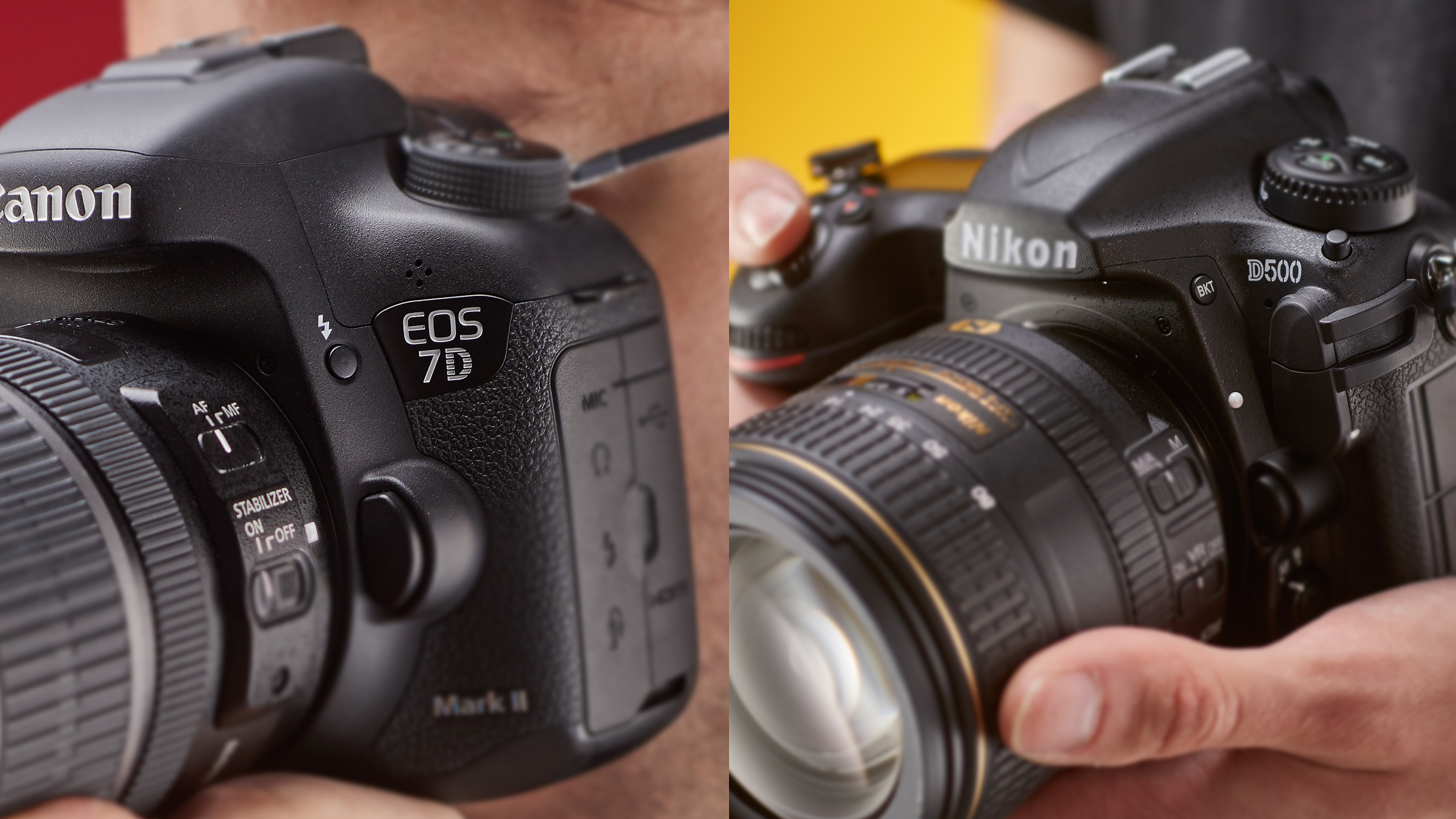 Canon EOS 7D Mark II vs Nikon D500 | TechRadar