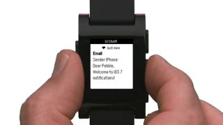 Pebble CEO touts hidden functionality says tons of apps on the way