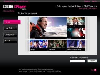 BBC iPlayer - the ultimate in catch-up TV services