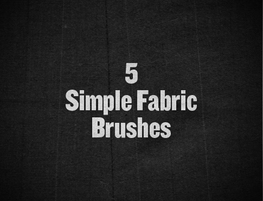 Photoshop brushes: Simple fabric