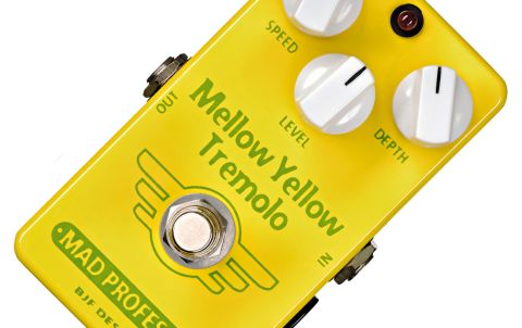 A simple, yellow box of tremolo.