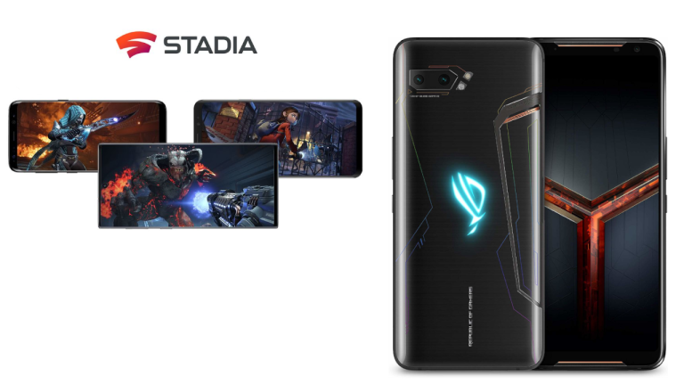 ASUS ROG Phone II and Google Stadia