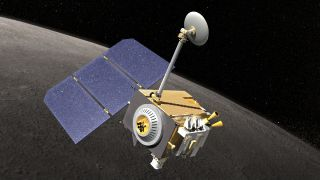 Lunar Reconnaissance Orbiter Artist's Conception