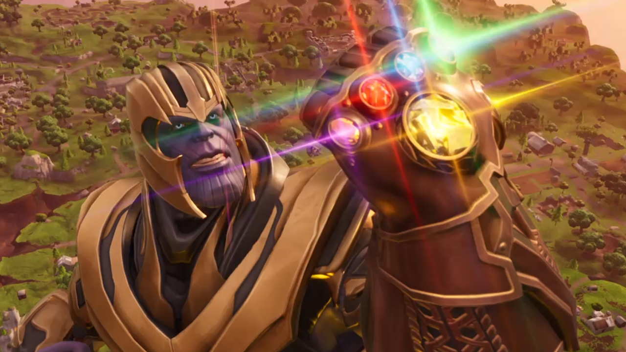 See The Fornite Thanos Gameplay In Action In The Fortnite X Infinity
