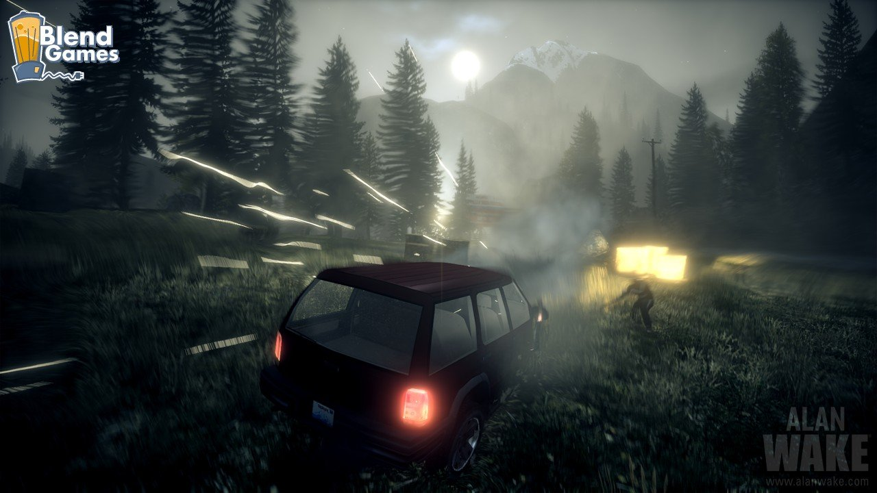 Alan Wake Screenshots Are All About The Flashlight #11186