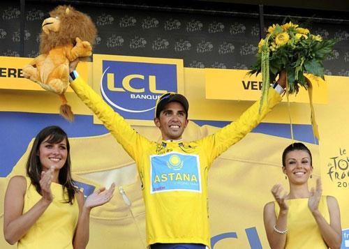 Alberto Contador, Tour de France 2009, stage 15