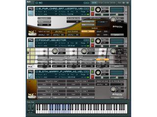 Kontakt 2 Player provides the sampling engine
