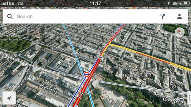 Google Maps for iPhone 5 and iOS 6 available on App Store   T3