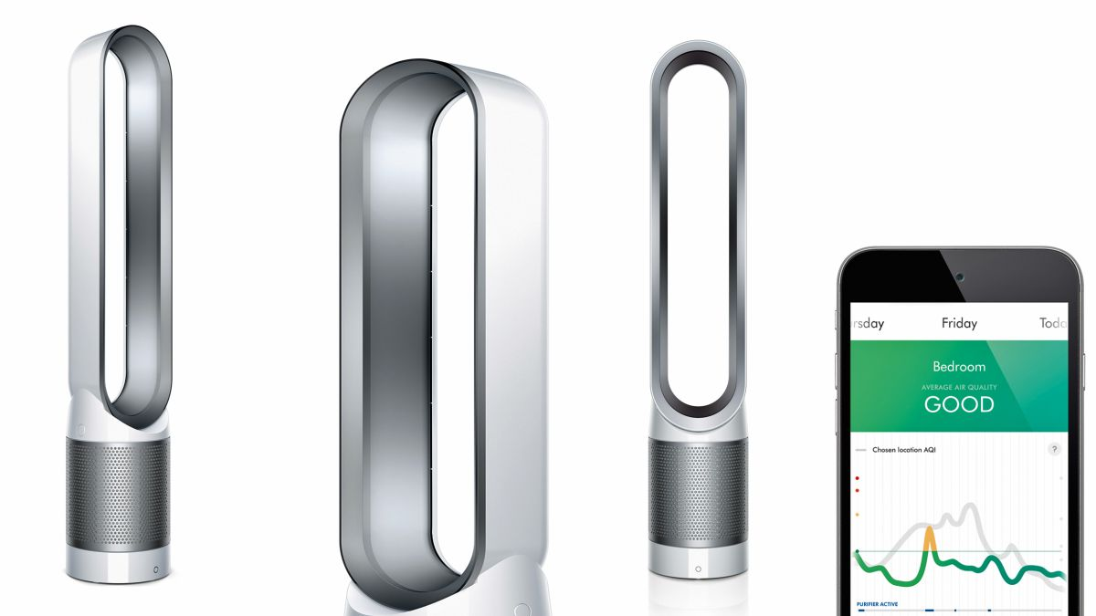 Dyson Pure Cool Link Air Purifier Will Remove The