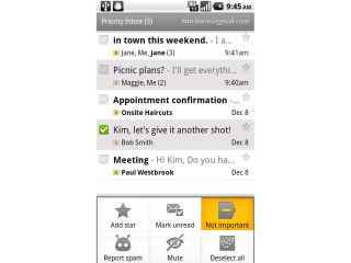 Priority Inbox is now available on most smartphones