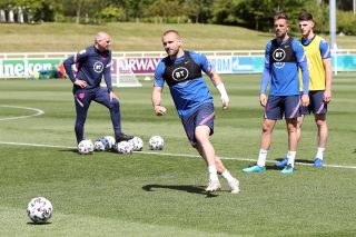 England Training Session – St George's Park – Tuesday June 15th