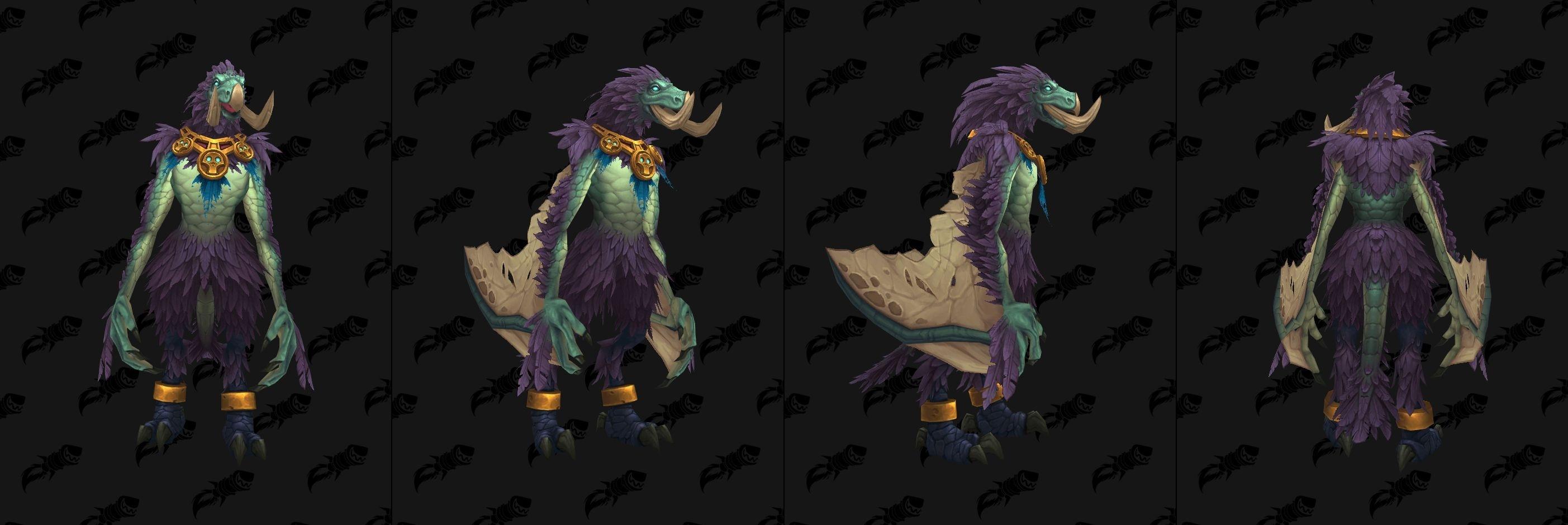 World of Warcraft позволит Вам сыграть за друида-динозавра