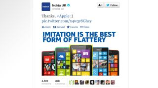 Nokia UK quick to suggest IPhone 5C is an 'imitation' of Lumia range