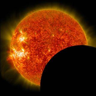 August 2014 solar eclipse
