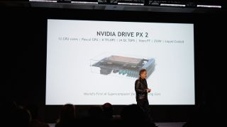 Nvidia self-driving car