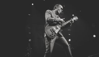 Joe Bonamassa performs live on stage at the Holland International Blues Festival in Grolloo, Netherlands, on June 9, 2018.