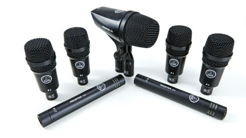 The mic set comes with its own reinforced, aluminium briefcase-style box