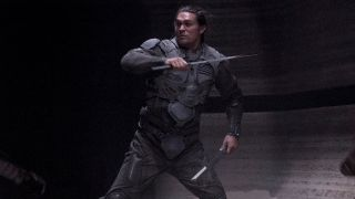 Jason Momoa fighting in Dune.