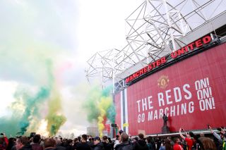 Manchester United fan protest – Old Trafford