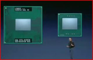 Steve Jobs reveals the MacBook Air at Macworld 2008