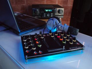 Plug the Aurora into a laptop and you're ready to start mixing.