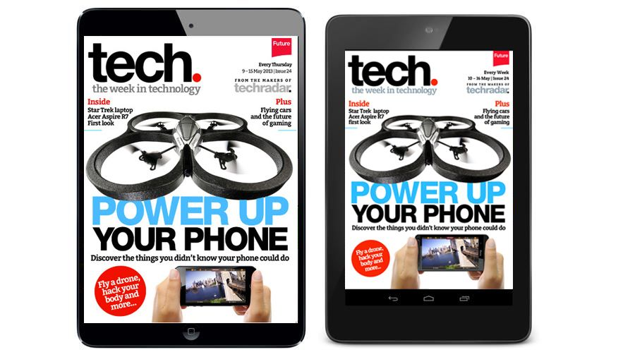 Power up your phone with tech. magazine