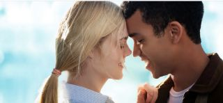 Justice Smith and Elle Fanning in Netflix's All the Bright Places