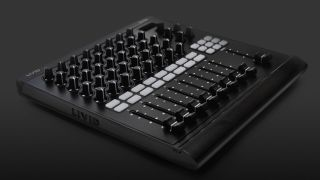 The DS1 MIDI Mixer: it looks like a mixer, but it's MIDI.