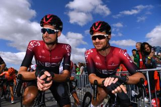 Owain Doull (Team Ineos) lines up at the Vuelta a Espana