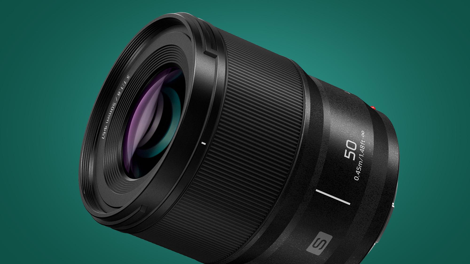 Panasonic launches bargain 50mm prime lens for full-frame Lumix cameras