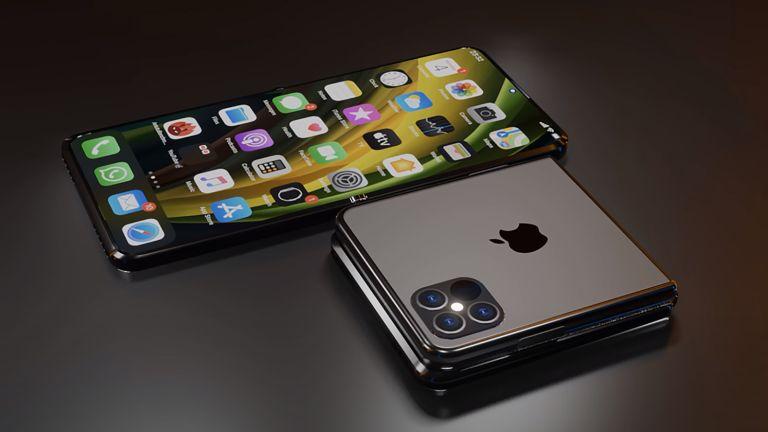 iPhone folding