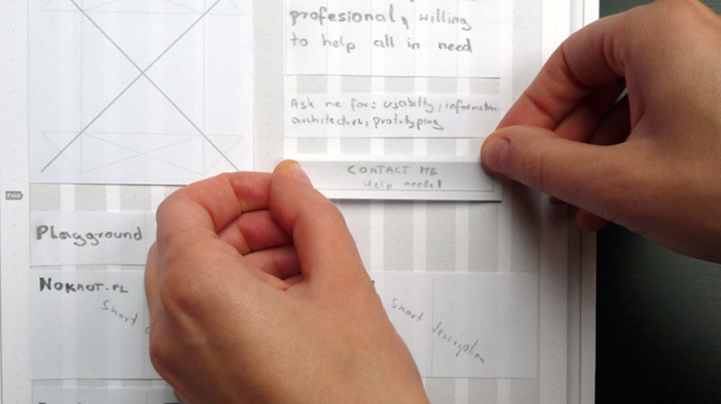 How to prototype websites on paper | Creative Bloq
