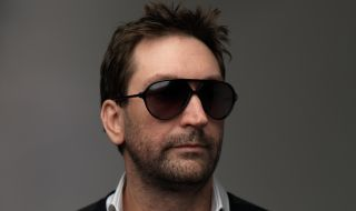 Leslie Benzies with shades
