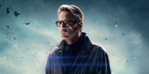 Alfred in Batman v Superman poster