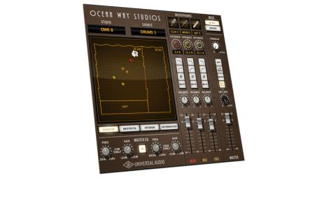 As opposed to individual gear emulations, this time the modelling process has been to capture the sound of Ocean Way's Studios 1 and 2