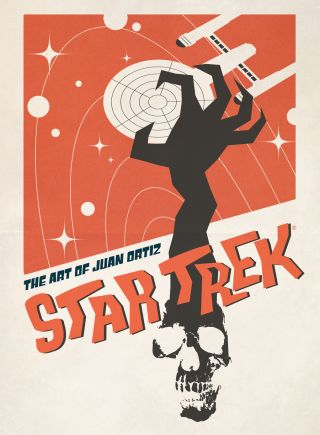 Cover Art of 'Star Trek: The Art of Juan Ortiz'