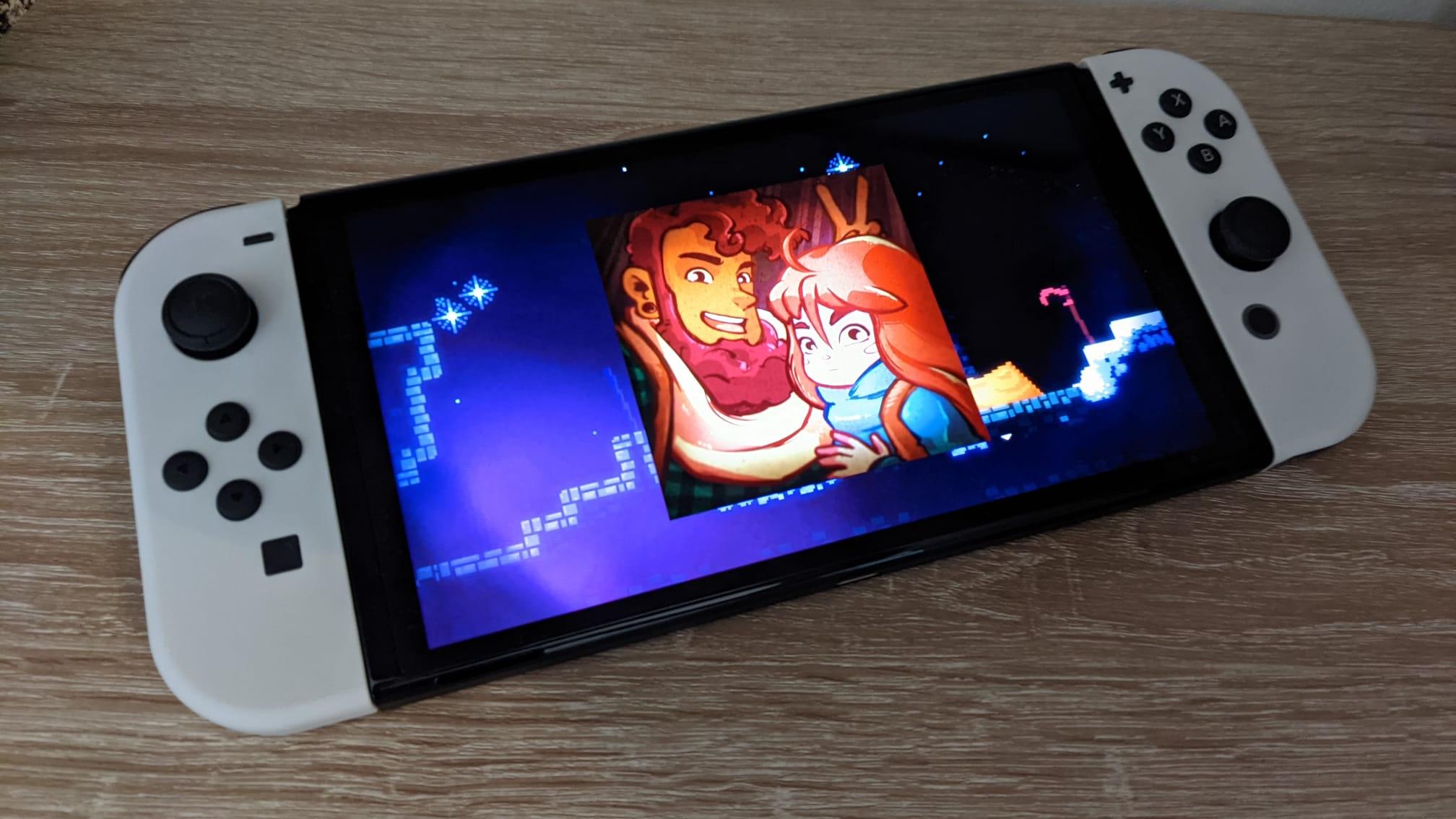 Nintendo Switch OLED Celeste screenshot