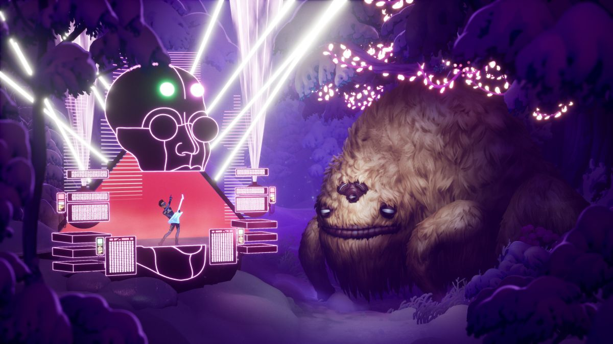 Learn more about The Artful Escape's cosmic rock opera from a new gameplay trailer