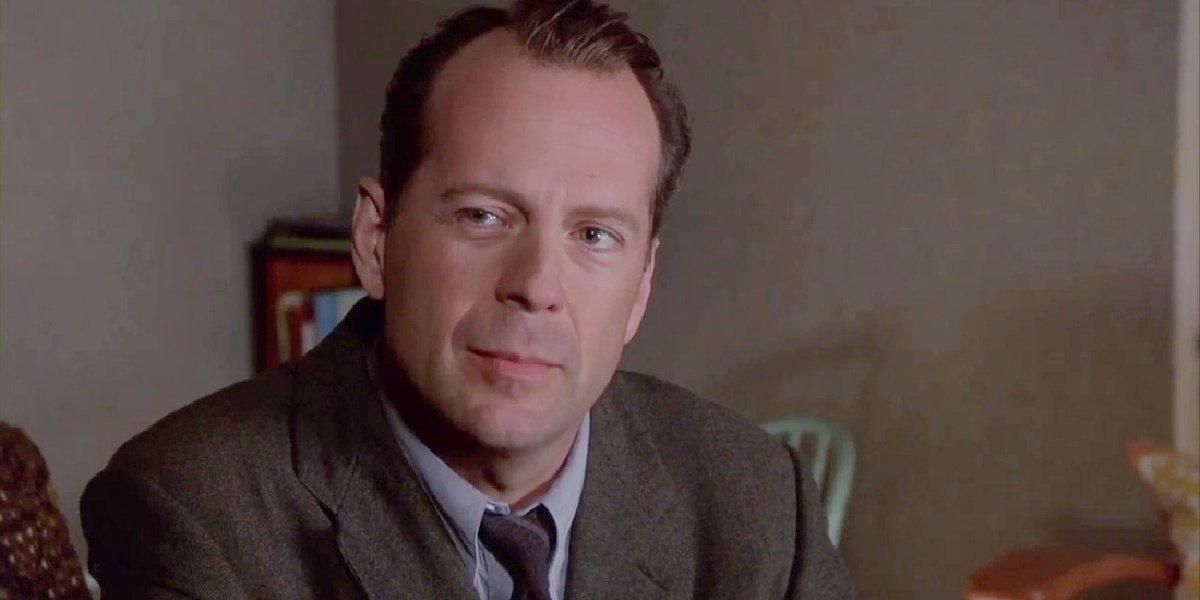 Bruce Willis in The Sixth Sense.