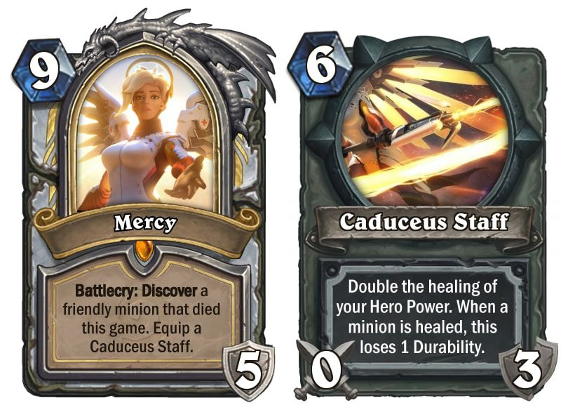 Here S Every Overwatch Hero Reimagined As A Hearthstone