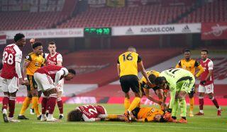 Arsenal v Wolverhampton Wanderers file photo